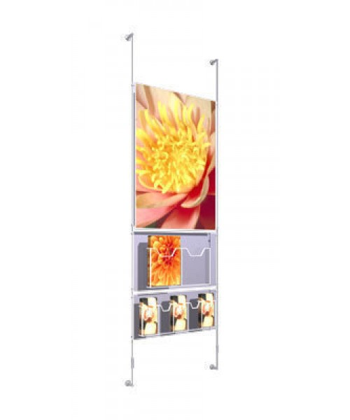 Wall Mounted Suspended Displays (5)