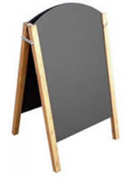 A2 Rounded TopChalkboard