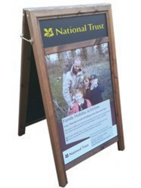 A-Board A1 Poster Holder chalk board with Display Panel
